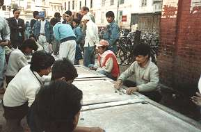 Carrom Players