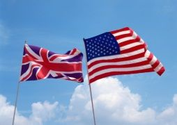 British & American Flags